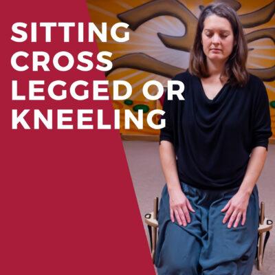 Sitting Cross Legged or Kneeling - Meditation Seats